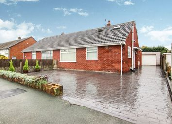 Thumbnail 4 bed semi-detached bungalow for sale in Nelson Drive, Pensby, Wirral