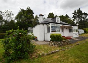 Thumbnail 2 bed detached bungalow for sale in Calvine, Pitlochry