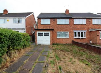 Thumbnail 3 bed semi-detached house for sale in Buckingham Drive, Willenhall