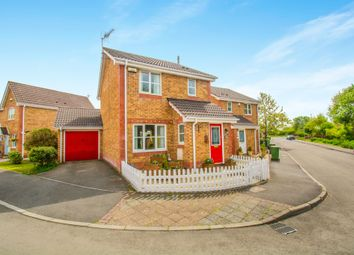 Thumbnail 3 bed detached house for sale in Walwyn Place, St. Mellons, Cardiff