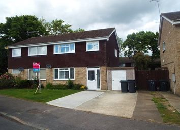 Thumbnail 3 bed semi-detached house to rent in Washford Farm Road, Kingsnorth, Ashford