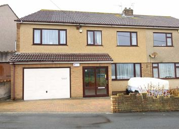 Thumbnail 4 bed semi-detached house for sale in Crown Road, Kingswood, Bristol