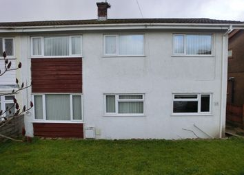 Thumbnail 3 bedroom semi-detached house for sale in Dolfain, Ystradgynlais, Swansea