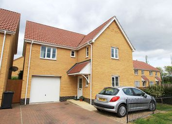 Thumbnail 4 bedroom detached house for sale in Lower Reeve, Great Cornard, Sudbury, Suffolk