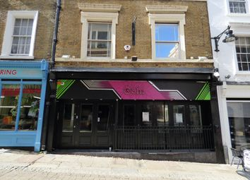 Thumbnail Restaurant/cafe to let in High Street, Gravesend, Kent