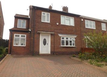 Thumbnail 4 bed semi-detached house for sale in Bamburgh Avenue, South Shields, Tyne And Wear