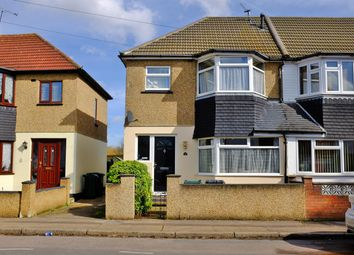 Thumbnail 3 bed terraced house to rent in Cranford Road, Dartford