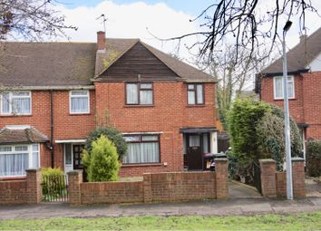 Thumbnail 3 bed end terrace house for sale in Crows Road, Epping