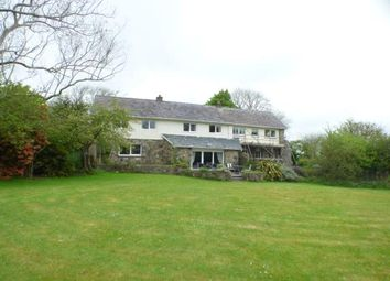 Thumbnail 6 bed detached house for sale in Y Ffor, Pwllheli, Gwynedd