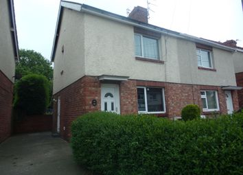 Thumbnail 2 bed semi-detached house for sale in Sheepwash Avenue, Guidepost, Choppington