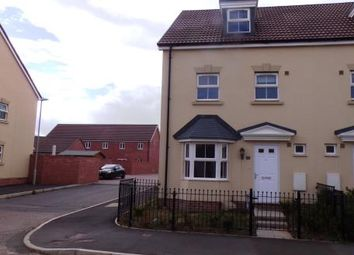 Thumbnail 4 bed town house for sale in Swannington Drive Kingsway, Quedgeley, Gloucester, Gloucestershire
