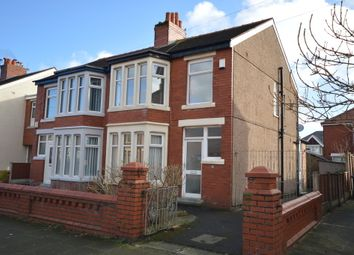 Thumbnail 3 bed semi-detached house for sale in Belvere Avenue, Blackpool