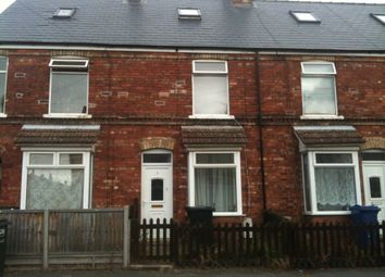 Thumbnail 3 bed terraced house to rent in Melrose Road, Gainsborough, Lincs