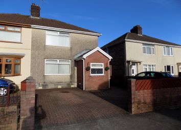 Thumbnail 3 bed semi-detached house for sale in Underwood Road, Cadoxton, Neath, Neath Port Talbot.