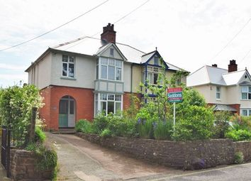 Thumbnail 3 bed semi-detached house for sale in Park Road, Tiverton