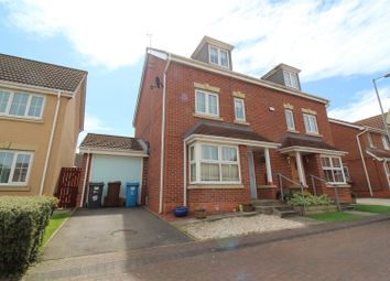 Thumbnail 4 bed end terrace house for sale in Dovestone Way, Kingswood, Hull