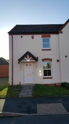 Thumbnail 3 bed semi-detached house to rent in Sandfield Meadow, Lichfield, Staffordshire