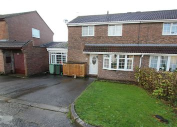 Thumbnail 3 bed semi-detached house for sale in Fonmon Park Road, Rhoose, Barry