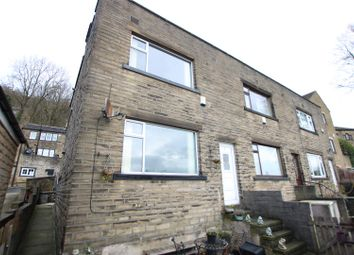 Thumbnail 2 bed end terrace house for sale in Park Grove, Northowram, Halifax