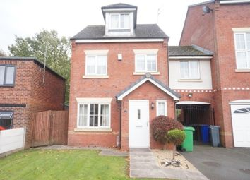 Thumbnail 4 bedroom town house to rent in Chelsfield Grove, Chorlton Cum Hardy, Manchester