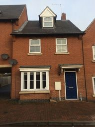 Thumbnail 3 bed terraced house to rent in Montgomery Road, Earl Shilton, Leicester