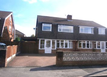 Thumbnail 3 bed semi-detached house to rent in Berisford Close, Timperley, Altrincham