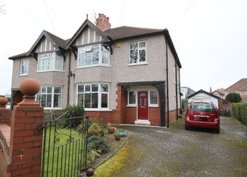 Thumbnail 3 bed semi-detached house for sale in Lodges Grove, Bare, Morecambe