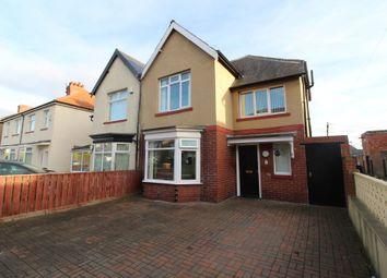 Thumbnail 3 bedroom semi-detached house for sale in Hoyle Avenue, Fenham, Newcastle Upon Tyne
