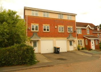 Thumbnail 3 bed terraced house to rent in Bassie Close, Bedford, Beds