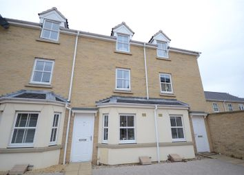 Thumbnail 4 bedroom town house for sale in Benjamin Gooch Way, Norwich