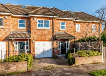 4 bed terraced house for sale in The Woodhams, Grange Road, New Haw KT15