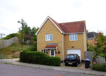 Thumbnail 3 bed detached house for sale in Durrant Road, Hadleigh, Ipswich, Suffolk