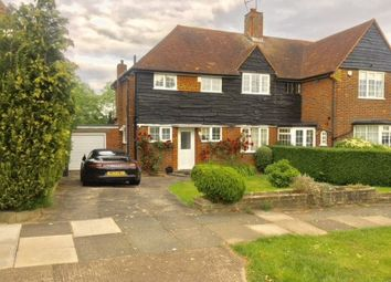 Thumbnail 3 bed semi-detached house to rent in Cotswold Way, Oakwood, London