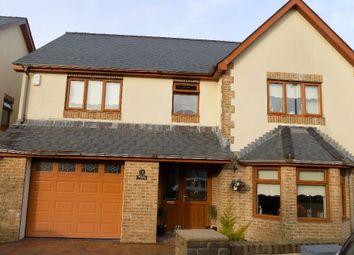 Thumbnail 4 bed detached house for sale in Siloam Close, Tafarnaubach, Tredegar. 3Aj.