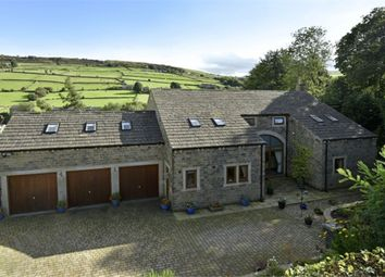 Thumbnail 5 bedroom detached house for sale in Stubbin Fold, Holmbridge, Holmfirth, West Yorkshire