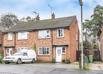 Thumbnail 3 bed semi-detached house for sale in Paschal Road, Camberley, Camberley, Surrey
