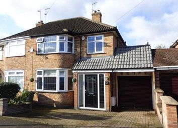 Thumbnail 3 bedroom semi-detached house to rent in Mossdale Road, Leicester