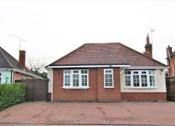 Thumbnail 3 bed bungalow for sale in Somerby Road, Thurnby, Leicester