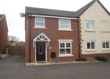 Thumbnail 3 bed semi-detached house for sale in Apple Drive, Shavington, Crewe