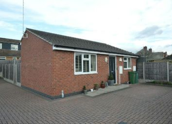 Thumbnail 1 bed detached bungalow for sale in Barry Court, Narborough, Leicester