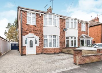 Thumbnail 3 bed semi-detached house for sale in Park Drive, Leicester Forest East, Leicester