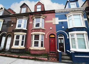 Thumbnail 4 bed terraced house for sale in Stanley Road, Liverpool, Merseyside