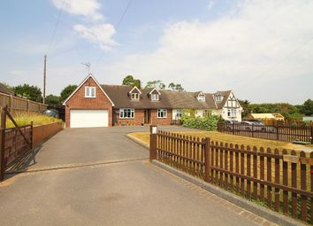 Thumbnail 5 bed semi-detached bungalow for sale in Claverhambury Road, Waltham Abbey