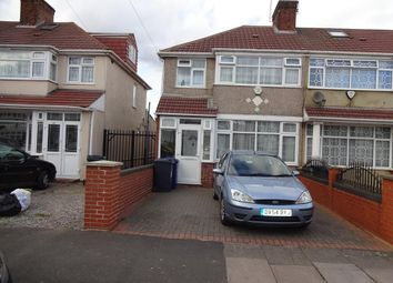 Thumbnail 3 bed end terrace house for sale in Malborough Road, Southall