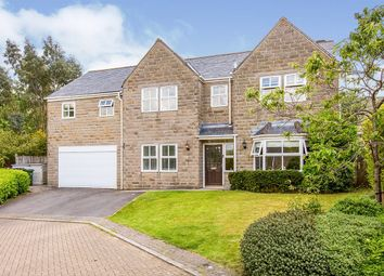 Thumbnail 5 bed detached house for sale in Manor Close, Todmorden