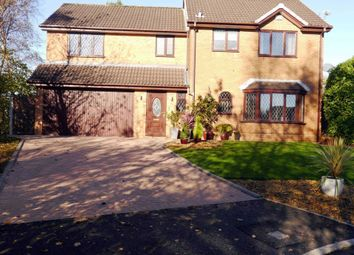 Thumbnail 4 bedroom detached house for sale in Kildale Close, Bolton