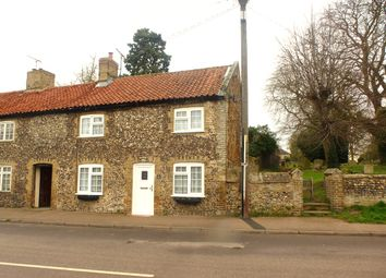 Thumbnail 2 bedroom end terrace house for sale in High Street, Lakenheath, Brandon