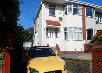 Thumbnail 3 bed semi-detached house for sale in Bideford Avenue, Blackpool
