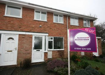 Thumbnail 2 bedroom terraced house to rent in Garths End, Haxby, York