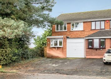 Thumbnail 3 bed semi-detached house for sale in Old Birmingham Road, Lickey End, Bromsgrove